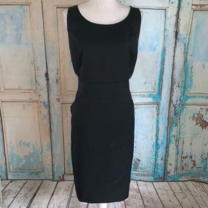 J. Crew Factory black dress
